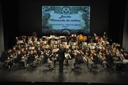 Comemora��o do 91� Anivers�rio da Banda Visconde de Salreu e do Dia Mundial da M�sica -