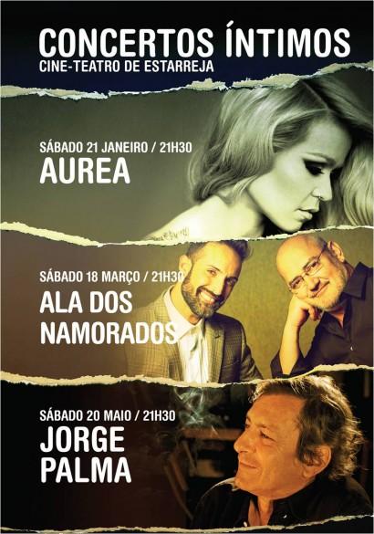 AUREA + QUINTETO LISBOA + JORGE PALMA -
