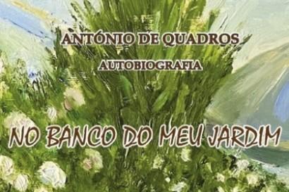 NO BANCO DO MEU JARDIM - de ANTÓNIO QUADROS
